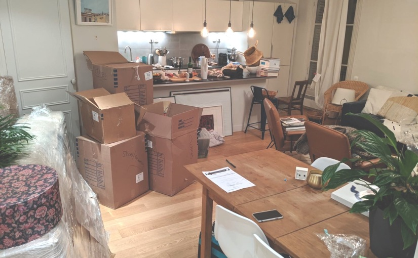 Waiting Four Months For My Boxes To Arrive to Paris From Los Angeles: I Lived It