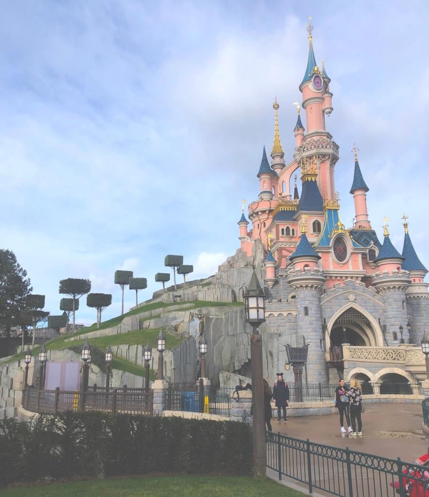 Sleeping Beauty Castle and Disneyland Paris