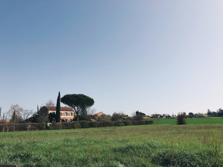 house in the countryside of Toulouse