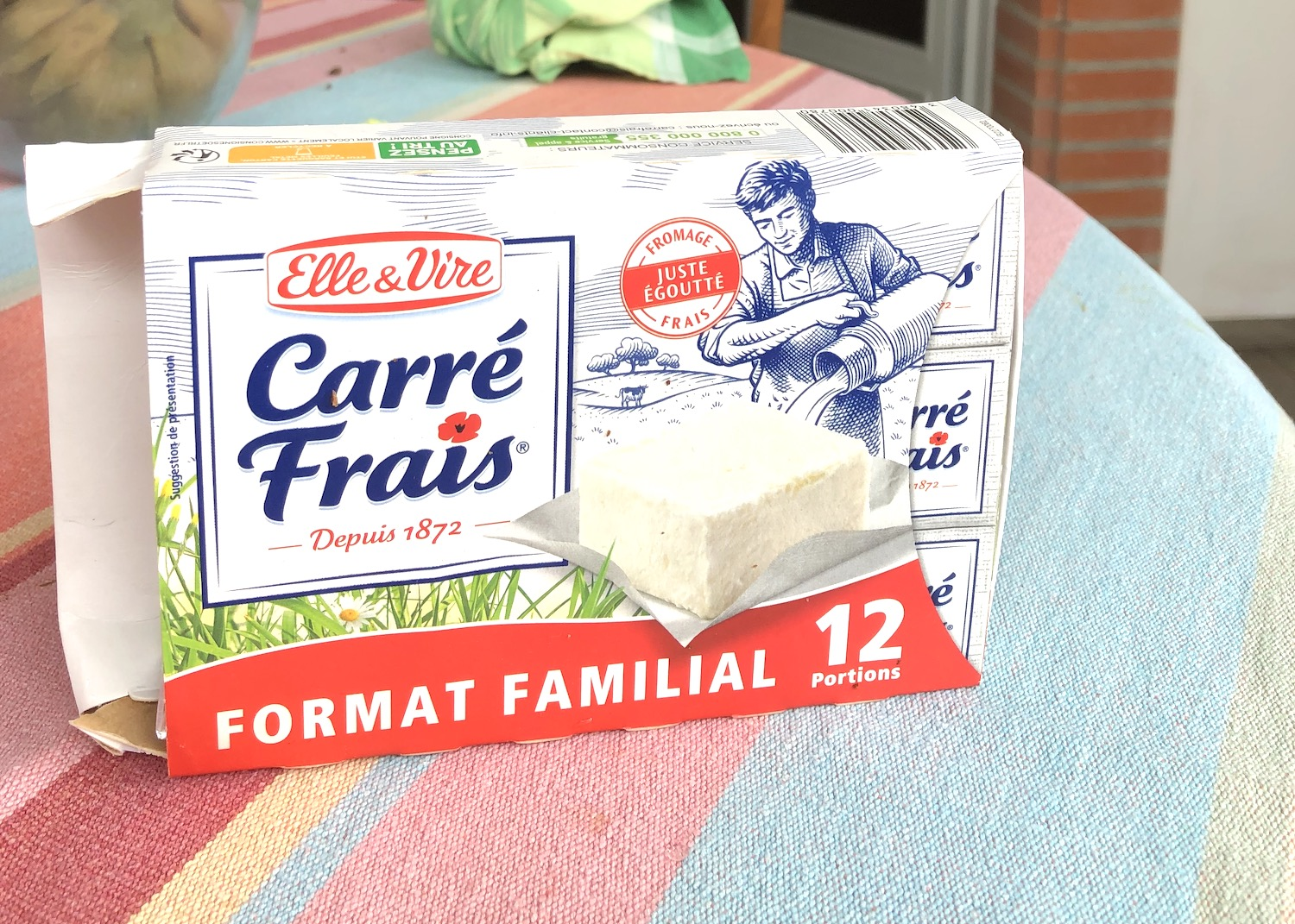 Carré Frais french cheese