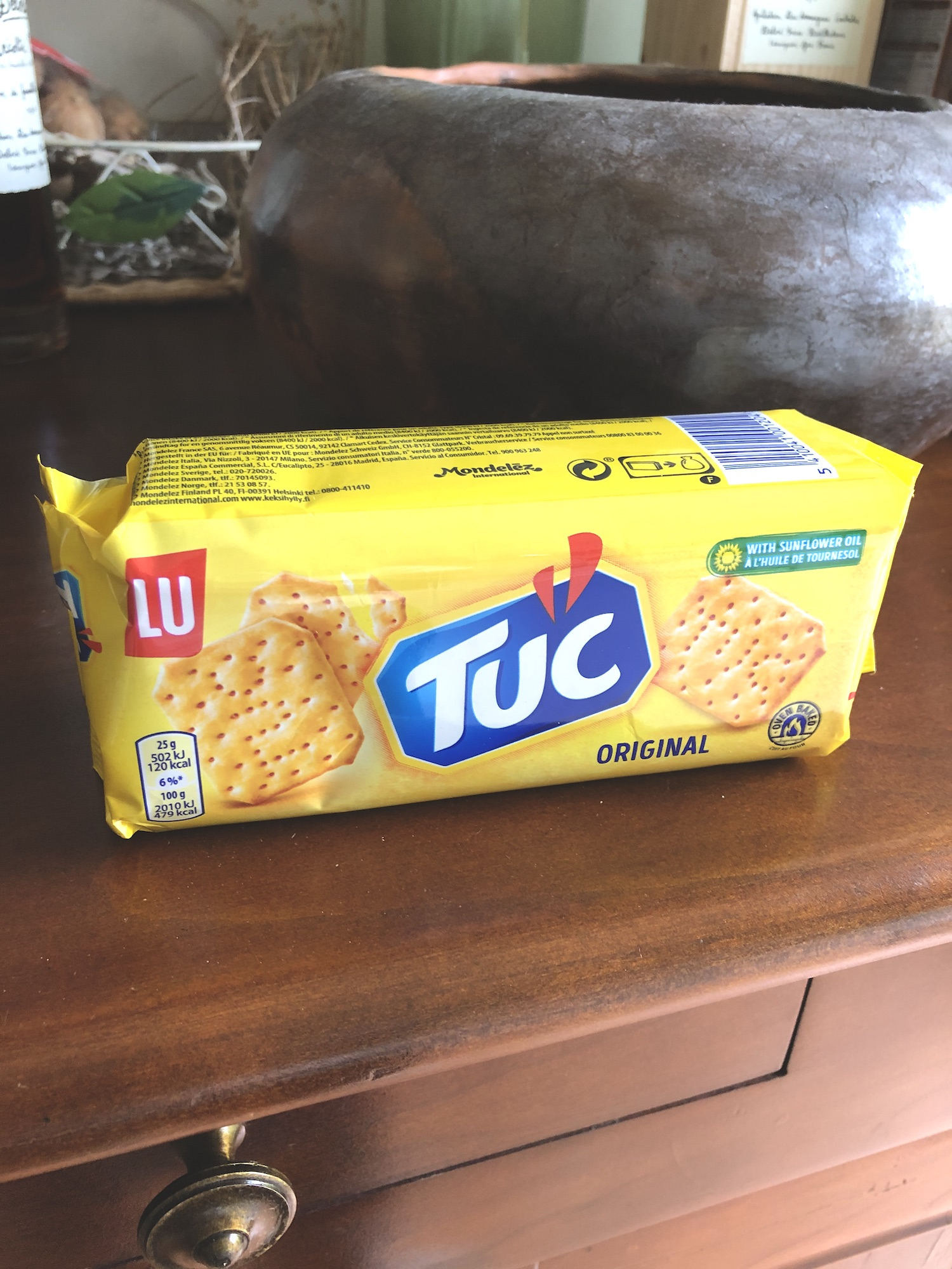 Tuc French crackers