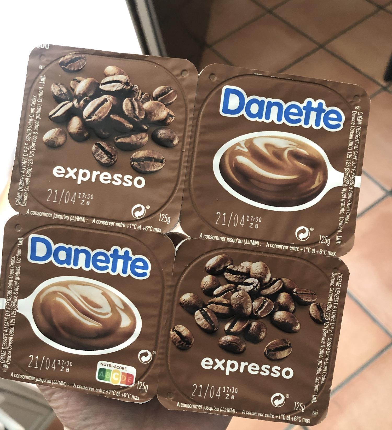 Expresso Danette
